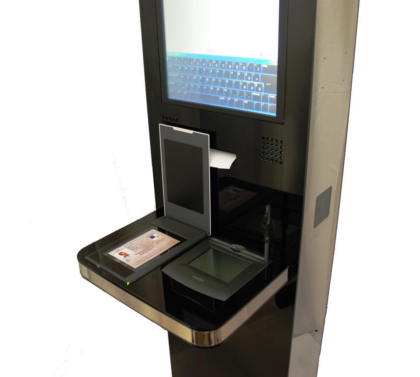 Totem per Check-in online